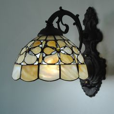 AC AC Tiffany Others Feature for Mini Style,Downlight Wall Sconces Wall Light Stained Glass Lamp Shades, Stained Glass Light, Tiffany Stained Glass, Stained Glass Panels, Glass Shades, Tiffany Lamp Shade, Tiffany Chandelier, Stained Glass Projects, Stained Glass Patterns