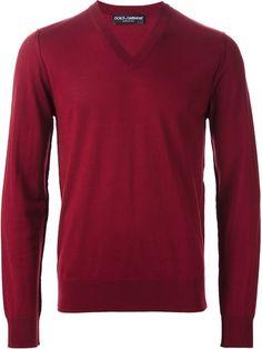 Shop Dolce & Gabbana v-neck sweater