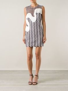Stella Mccartney Wavy Fringe Dress - Smets - Farfetch.com