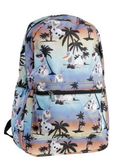 709b483e9c  ad Frozen Tropical Olaf Backpack. Price   14.99.This backpack features an  all