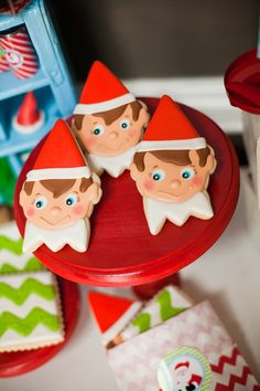 Elf cookies make a perfect snack to munch on during the movie - A Southern Outdoor Cinema movie snack & food idea for outdoor movie events.