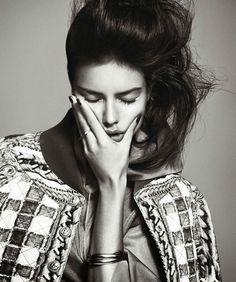 magazine-photoshoot : Adriana Lima Harper's Bazaar Spain Magazine Photoshoot February 2014