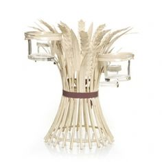 Crafty metal wheat candle holder $24.99 @Yankee Candle #festive #fallseason