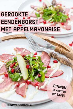 Mayonnaise, Dutch Kitchen, Deli Food, Xmas Dinner, Cooking Recipes, Healthy Recipes, Xmas Food, Culinary Arts, Tapas