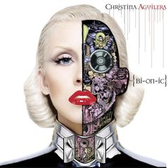 Blonde Cyborg CD Covers - Pop music superstar Christina Aguilera is set to drop a new album entitled 'Bionic' and while you may not find any of her music on my iPod, what I . Christina Aguilera Bionic, Christina Aguilera Albums, The Velvet Underground, Robert Mapplethorpe, Patti Smith, Blink 182, Cd Cover, Album Covers, Cover Art