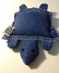 Modèle Tortue en jean... ...
