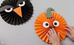 Halloween es una ocasiónpara hacer manualidades con niños; aprovecha estos días previos para hacer esta decoración y envoltorios de chucherías tan bonitos.