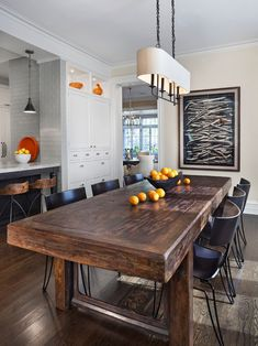Dining Room Modern Table Traditional Chairs Design, Pictures, Remodel, Decor and Ideas - page 14