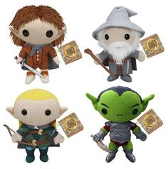 Anime Plushies | ... the gandalf legolas orc frodo plushie toys they plushies are cute