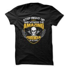Awesome Foreman T-Shirts, Hoodies. VIEW DETAIL ==►…