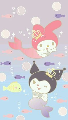 My Melody, Kuromi My Melody Wallpaper, Soft Wallpaper, Sanrio Wallpaper, Hello Kitty Wallpaper, Kawaii Wallpaper, Wallpaper Iphone Cute, Disney Wallpaper, Melody Hello Kitty, Cute Lockscreens
