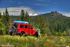 Get outside and explore. Rabbit Ears Pass in Steamboat Springs, Colorado