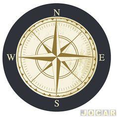 "Capa de estepe - Comix Acessórios - EcoSport/CrossFox/AirCross 2010 até 2015/Spin - ""Compass"" - cada (unidade) - CC523 - Capa de estepe - Acessórios - Jocar"