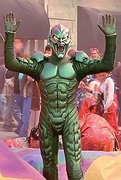 Green Goblin - Spider-Man movie Spiderman 2002, Real Spiders, Goblin King, Arch Enemy, Green Goblin, Man Movies, Marvel Universe, Avengers, Sci Fi