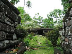 Nan Madol – the ruins of a South Pacific island city inspired H.P. Lovecraft to make it home for his monsters.