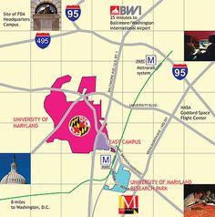 University Of Maryland College Park | Location - M Square Research Park | University of Maryland