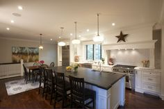 Meredith Heron Design - kitchen lighting