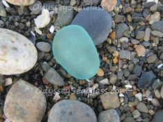 Blue is my favorite color in sea glass
