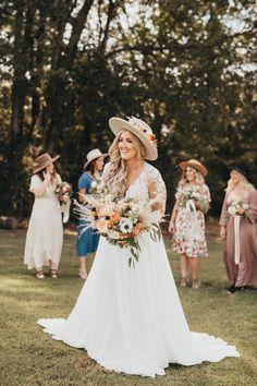 Wedding Hats, Boho Wedding, Summer Wedding, Wedding Stuff, Wedding Dreams, Dream Wedding, Boho Hat, Lake Tahoe Weddings, October Wedding