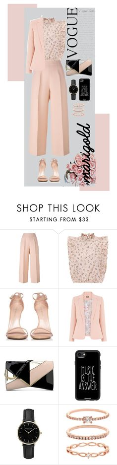 """""""Tenderness"""" by yulrom ❤ liked on Polyvore featuring Fendi, Stuart Weitzman, Nine West, Casetify, ROSEFIELD and Accessorize"""