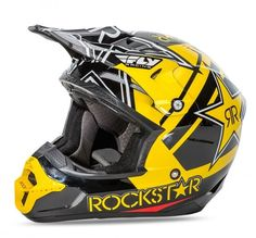 2016 FLY RACING KINETIC PRO MX MOTOCROSS HELMET - ROCKSTAR