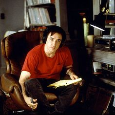 """HIGH FIDELITY (2000) -""""Now, the making of a good compilation tape is a very subtle art. Many do's and don'ts. First of all you're using someone else's poetry to express how you feel. This is a delicate thing."""""""