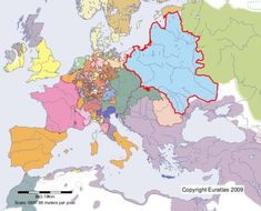 Online historical atlas showing a map of Europe at the end of each century from year 1 to year Map of Aachen in year 1600 European Map, European History, Kingdom Of Bohemia, Venice Map, Poland History, Freedom Of Religion, Holy Roman Empire, Oldenburg, African Masks
