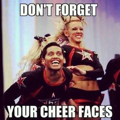 25 Of The Best Cheerleading Fails That Make People Laugh 'Til They Cry Cheerleading Memes, Funny Cheerleader, Cheer Stunts, Cheer Dance, Competitive Cheerleading, Gymnastics Funny, Male Cheerleaders, Gymnastics Images, Gymnastics Quotes