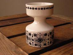 We love Vintage - Figgjo Flint candle holder by HuntersKitchen