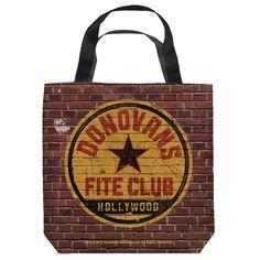 Ray Donovan Fite Club Tote Bag