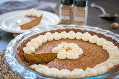 A new Pumpkin Pie Recipe for Thanksgiving  Add 1 extra egg yolk, make extra crust