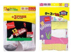 Target: Kids' Hanes Socks or Underwear—12-Pack for $5.40 - Money Saving Mom®
