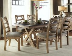 West Valley Casual 7 Piece Dining Set by AAmerica  www.conlins.com