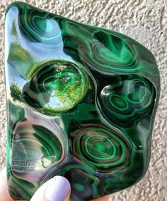 Malachite Always a favorite with me! I love the rich, deep green!