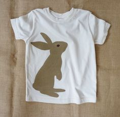 Organic Chocolate Bunny t-shirt