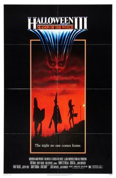 Halloween III: Season of the Witch (1982) Directed by Tommy Lee Wallace & Produced by Debra Hill John Carpenter  - Movie Poster  https://www.youtube.com/user/PopcornCinemaShow