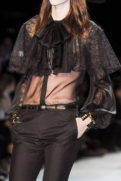 Yves Saint Laurent spring 2013 ready-to-wear