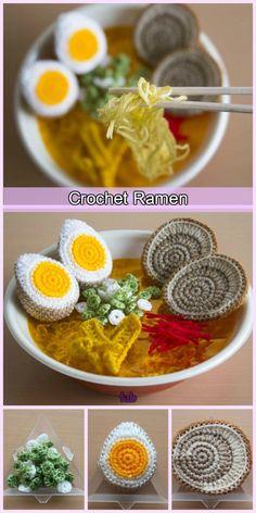 Crochet Japanese Ramen Noodles Look So Real