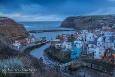 Staithes With An Early Morning Dusting Of Snow