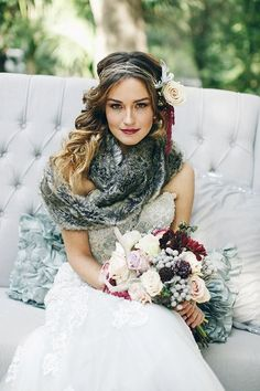 Not too cold on your big day, so no need for fur? Rock a beautiful scarf – this is a very trendy accessory not only for everyday looks but also...