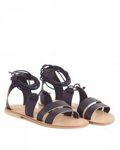 Sélection sandales plates été 2016 #madeinfrance - Sandales Sessun #faitmain