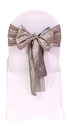 Brown Pack of 1 LA Linen 5 by 72 Bridal Satin Graduation Sash//Stole