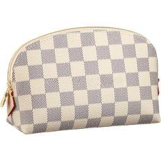 Louis Vuitton Cosmetic Pouch Damier Azur Canvas N60024