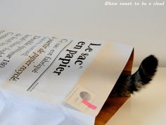 how sweet to be a cloud: paper bag. Free Blog, Cards Against Humanity, Clouds, Paper, Sweet, Bags, Funny, Candy, Handbags