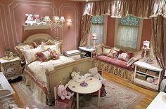 Interior Design Ideas for Girls' Bedroom Girls Bedroom, Little Girl Bedrooms, Bedroom Ideas, Dream Bedroom, Girl Rooms, Childrens Bedroom, Pretty Bedroom, Mauve Bedroom, Rose Bedroom