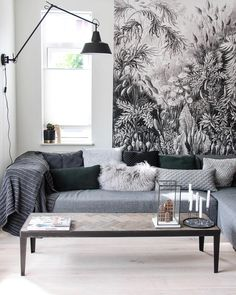 Entzuckend In Diesem Einzigartigen Wohnzimmer Stimmt Einfach Jedes Detail. Eine  Atemberaubende Tapete,