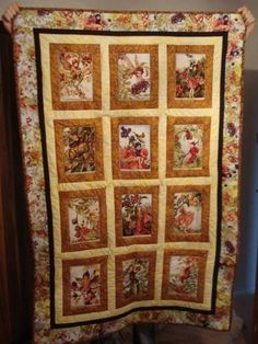 love this fairy quilt