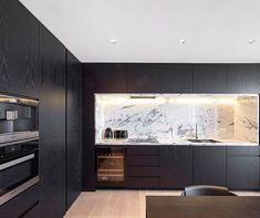 Kitchen inspiration Kitchen Room Design, Modern Kitchen Design, Dining Room Design, Interior Design Kitchen, Kitchen Decor, House Extension Design, House Design, Modern Kitchen Interiors, Dream House Interior
