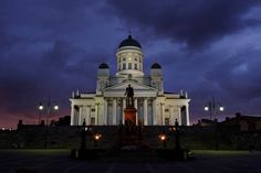 Helsinki Cathedral by Christian Flaaten on 500px