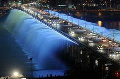 Banpo köprüsü ~ Güney Kore
